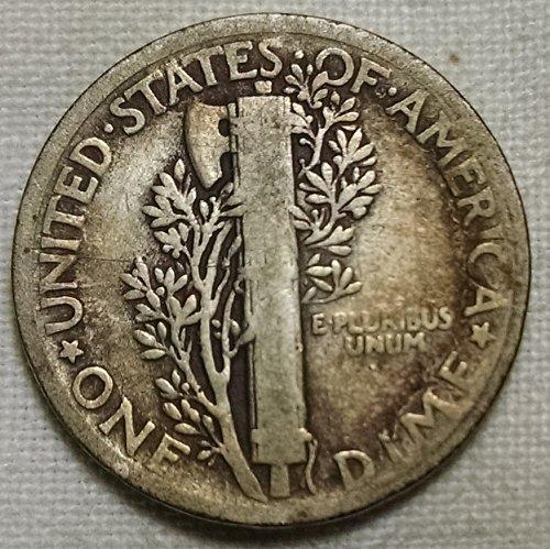 1924 P Mercury Dime