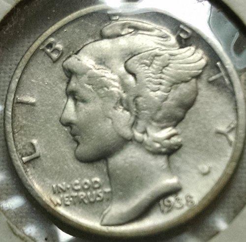 1939 P Mercury Dimes