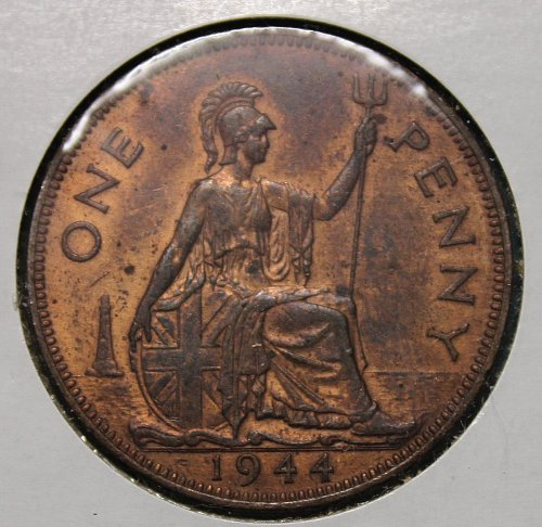 Great Britain 1944 1 Penny