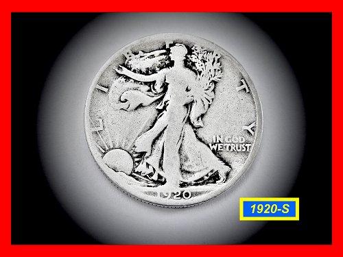 1920-S  Liberty Walking Half  ☆   (#1755)a
