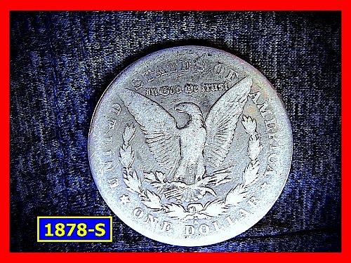 1978-S Morgan Silver Dollar ☆  Circulated ☆   (#5325.1)a