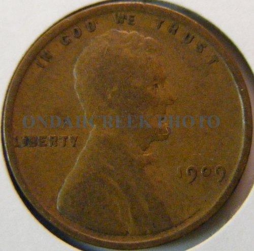 1909 Lincoln Cent Fine