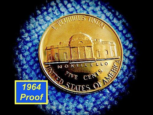 """1964  Proof Nickel  ✬  """"DCAM""""   ✬  (#6434)a"""