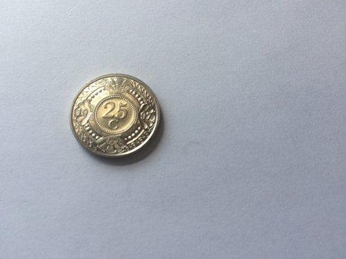 NEDERLANDSE ANTILLEN 25 CENT COIN