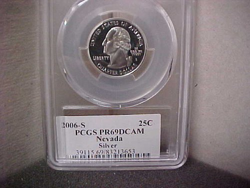 2006-S 25 Cent Washington PCGS PR69 DCAM #13653