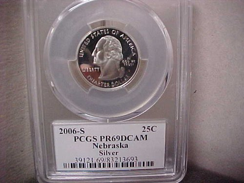 2006-S 25 Cent Washington PCGS PR69 DCAM #13693
