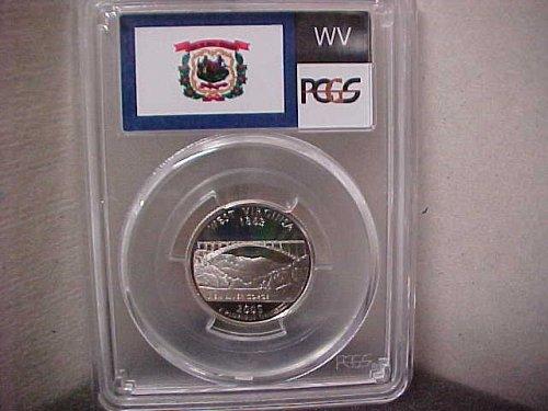 2005-S 25 Cent Washington PCGS PR69 DCAM #71517