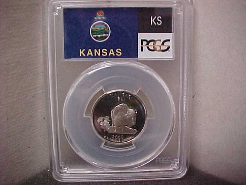 2005-S 25 Cent Washington PCGS PR69 DCAM #71495