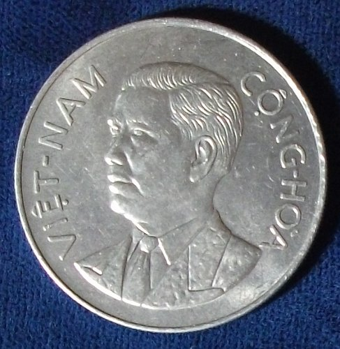 1960 South Viet-Nam 50 Su AU
