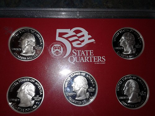 2007-s silver proof set state quarters