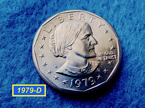 1979-D Susan B Anthony  ☆ Mint State ☆    (##5434)a