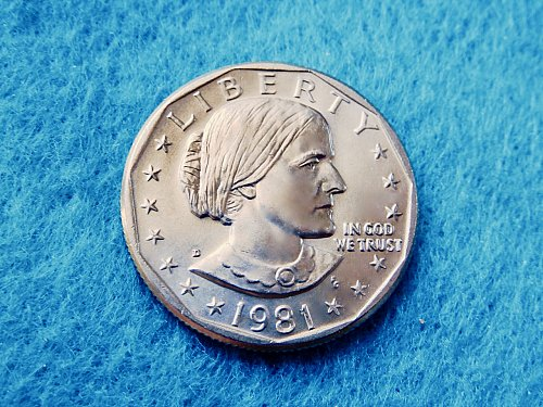 1981-D Susan B Anthony  ☆ Mint State ☆    (#5437)a