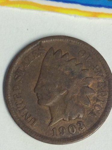 1903 INDIAN BN VG