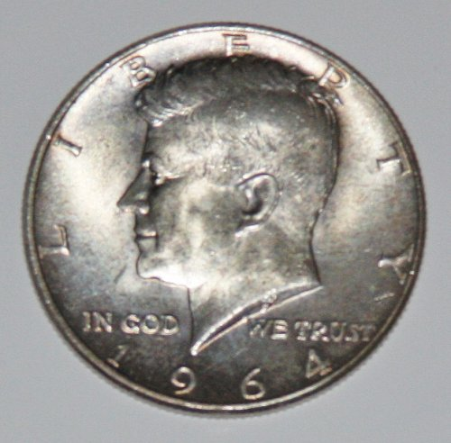 COLLECTIBLE SILVER 1964-P KENNEDY 50C HALF DOLLAR.......1.....