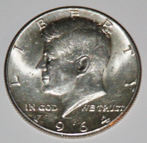 COLLECTIBLE SILVER 1964-P KENNEDY 50C HALF DOLLAR.......2......