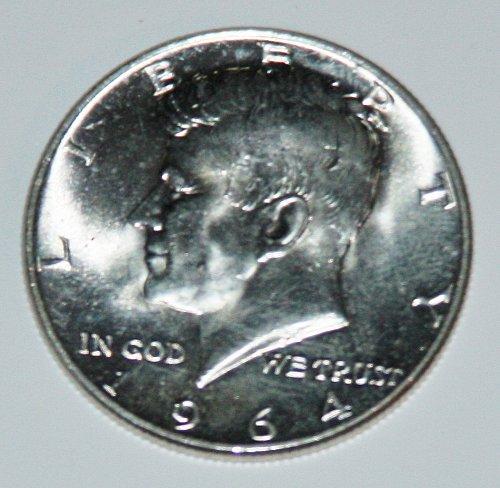 COLLECTIBLE SILVER 1964-P KENNEDY 50S HALF DOLLAR.......3....