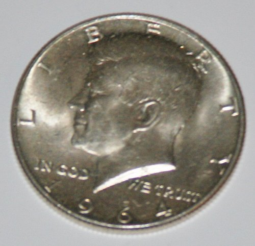 COLLECTIBLE SILVER 1964-P KENNEDY 50C HALF DOLLAR.......4.....