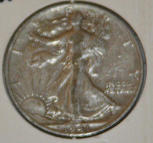COLLECTIBLE *SILVER* 1941-D WALKING LIBERTY HALF DOLLAR.....XF....7A