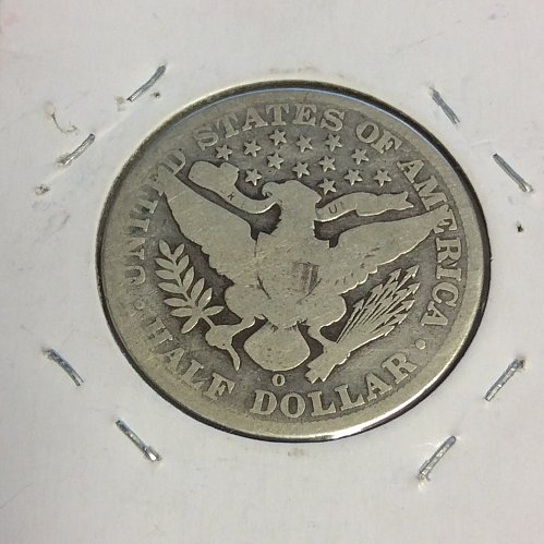 "1904-O 50C BARBER HALF DOLLAR ""SCARCE DATE"""