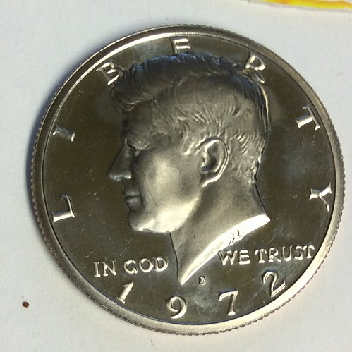 1972-S 50C PR KENNEDY HALF DOLLAR
