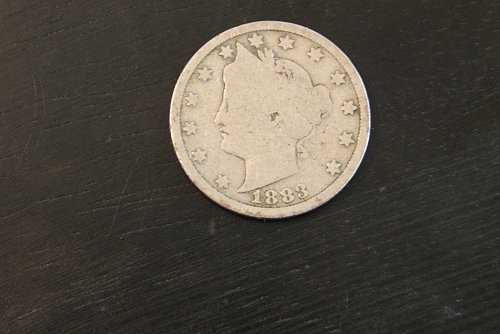 1883 Liberty Nickel, First Nickel of this series