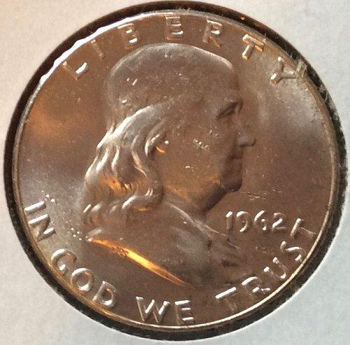 1962 D Franklin Half Dollars
