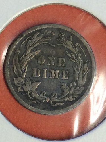 1912 10C BARBER DIME
