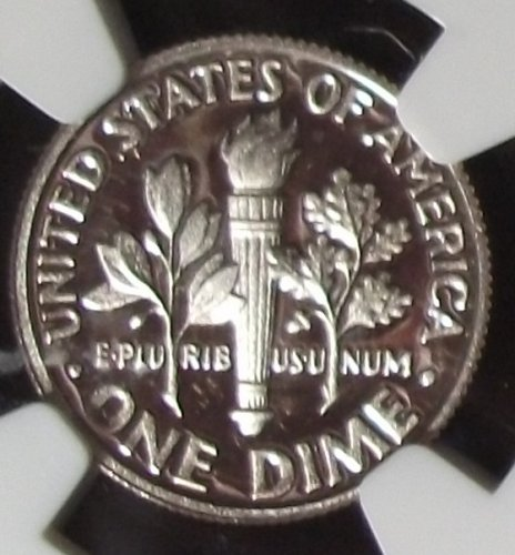 2014S Roosevelt Dime, Clad, NGC PF69 Ultra Cameo