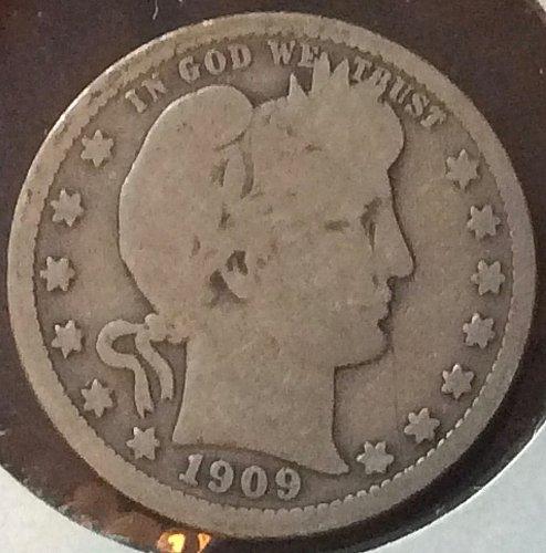 1909 P Barber Quarters