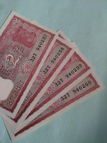 India...2Rupee..UNC..R N Malhotra