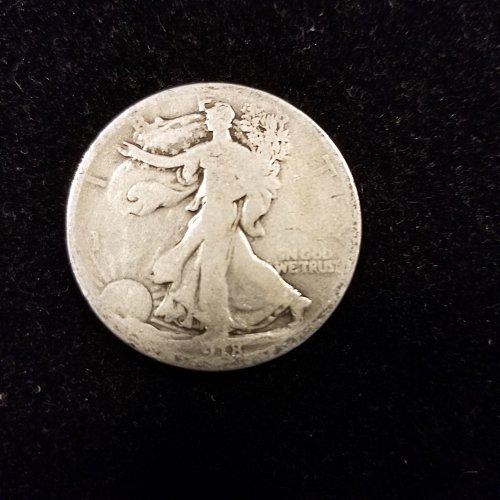 1918 Silver Walking Liberty Half Dollar