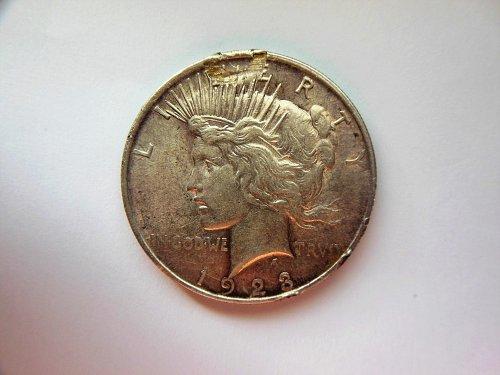 1923-P Silver Peace Dollar