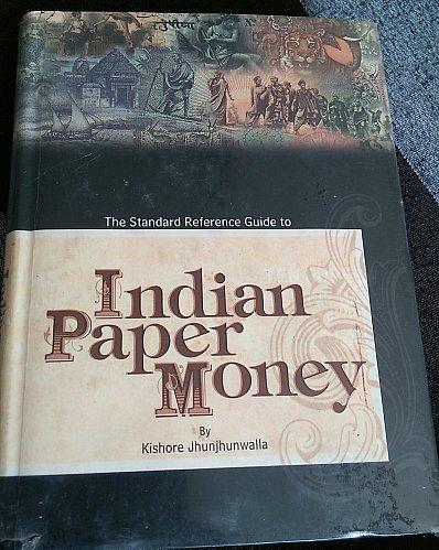 India paper money old book..Kishore Jhunjhunwala