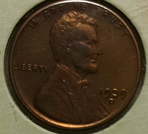 1939 D Lincoln Wheat Cent Small Cent