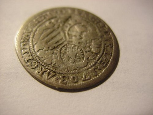 1703 austria 3 kreuzer,leopold