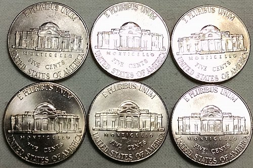 2011 D Jefferson Nickels
