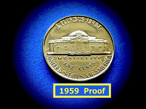 1957  Proof Nickel  ✬     ✬  (#6439)a