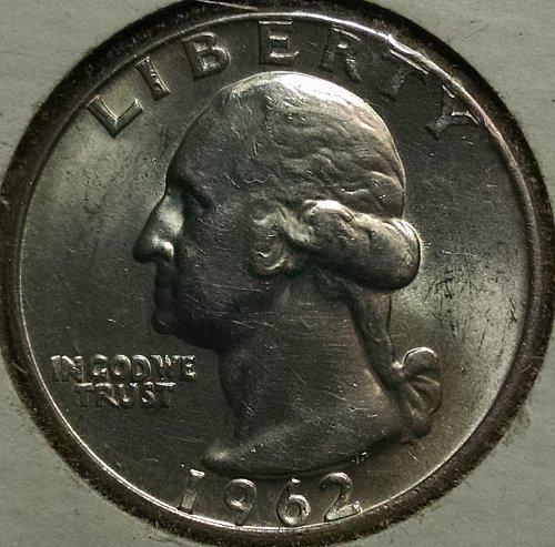 1962 D Washington Quarters