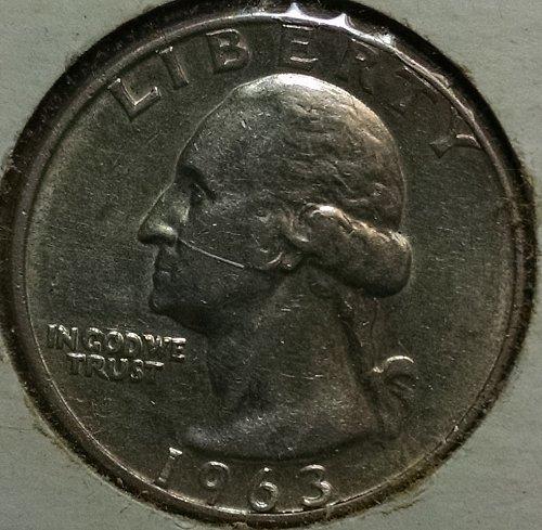 1963 D Washington Quarters