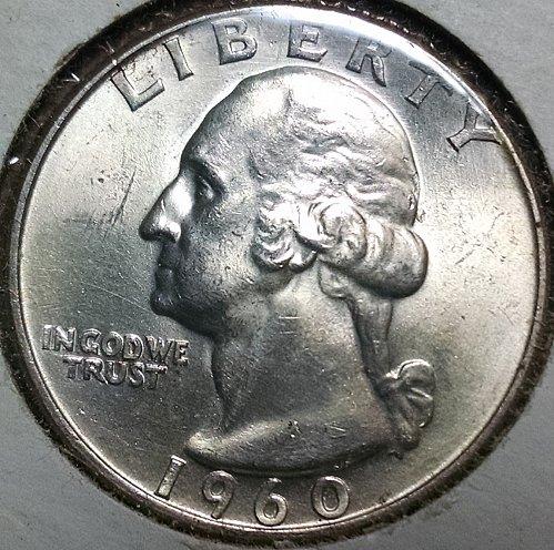 1960 D Washington Quarters