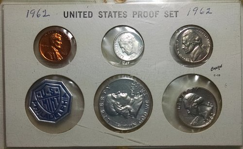 1962 P Silver Proof Set