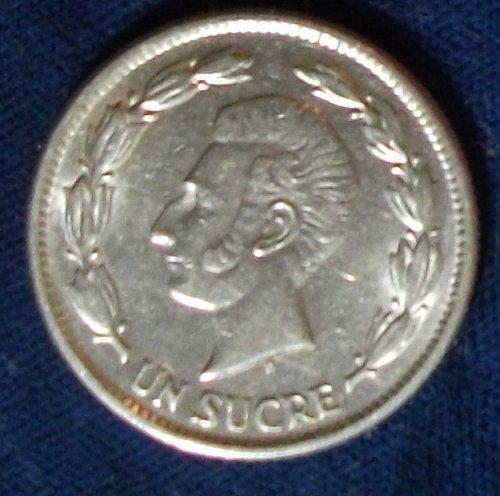 1937 Ecuador Sucre XF