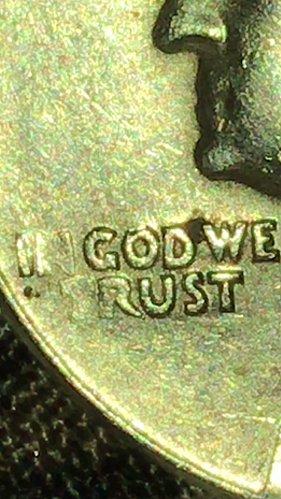 In god we trust errors