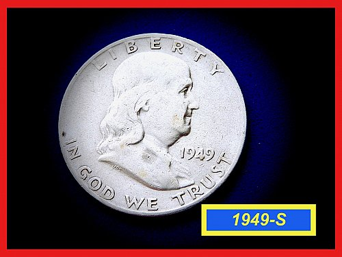 1949-S ☆ KEY DATE ☆ Circulated   (#1836)a