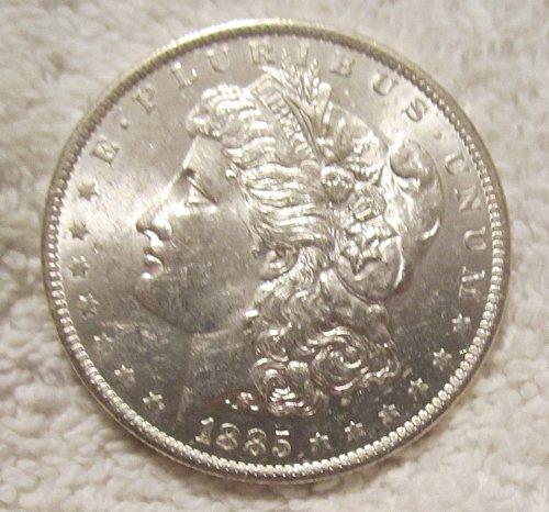 1885 O MORGAN SILVER DOLLAR, MS+++ Nice!!!