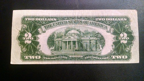 Series 1928 G $2 Bill