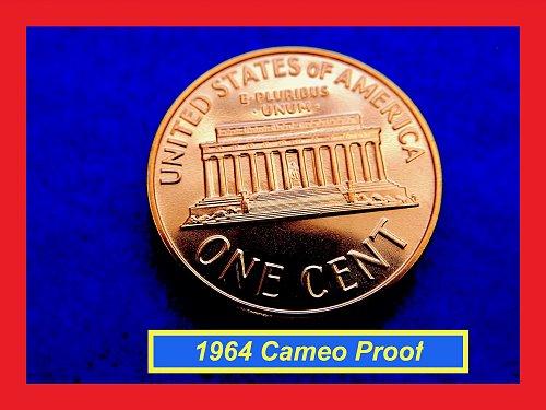 1964  PROOF Penny ✬✬✬ High Grade GEM Proof  (#7209.2)b