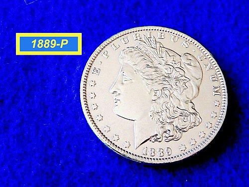 1889-P Morgan Silver Dollar ☆  ☆(#5433)a