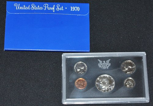 COLLECTIBLE 1970-S PROOF SET....