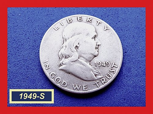 1949-S ☆ KEY DATE ☆ Circulated   (#1835)a